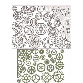Dies Set de 22 - Gearhead -Thinlits by Tim Holtz – Sizzix