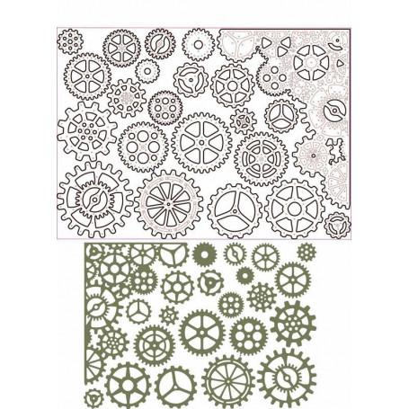 Dies Set de 22 - Gearhead -Thinlits by Tim Holtz – Sizzix