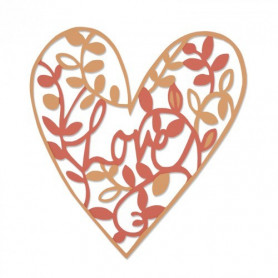 Die Natural Love -Thinlits by Emily Atherton – Sizzix