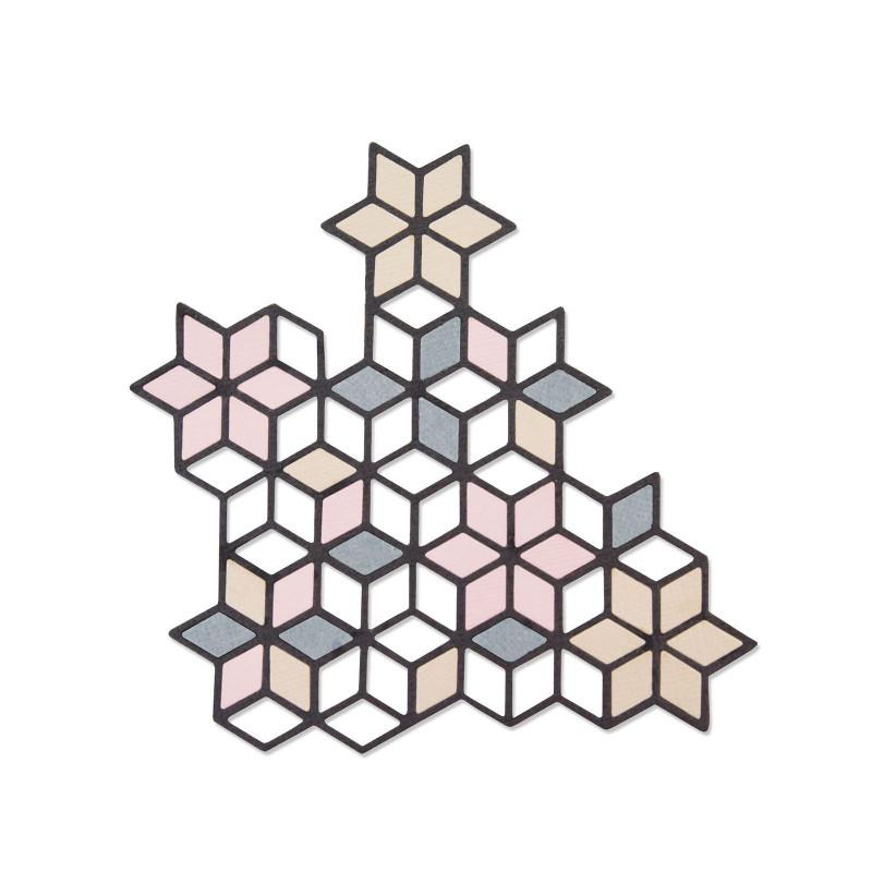 Die Diamond Cluster -Thinlits by Debi Potter – Sizzix