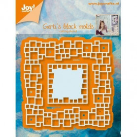 Dies Gerti's block molds 2 pc - Joycraft Cut and embos dies