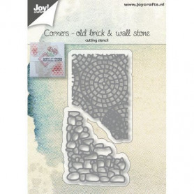 Dies Corners old brick and wall stone 2 pc - Joycraft