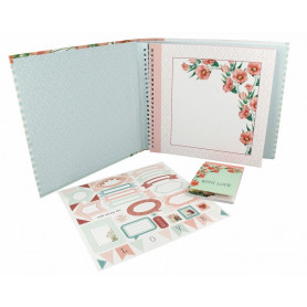 Kit album Secret Garden 20x20 - Artemio