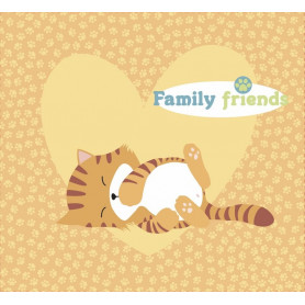 Kit album Family Friends Chats 20x20 - Artemio