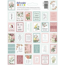 Stickers Timbres Secret Garden - Artemio