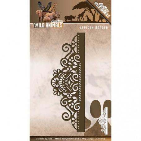 Die African Border - Wild Animals - Amy Design