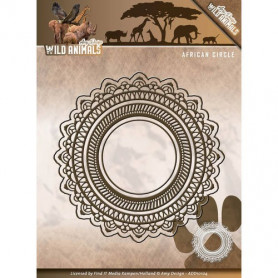Dies African Circle - Wild Animals 4 pièces - Amy Design