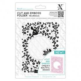 Classeur de gaufrage et de découpe Flower Fairies – Xcut – Cut & Emboss Folder