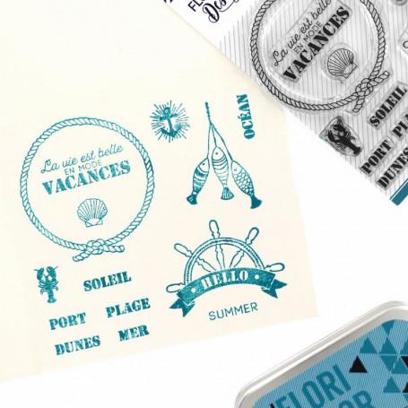 Tampons En mode vacances - Bord de mer – Florilèges Design
