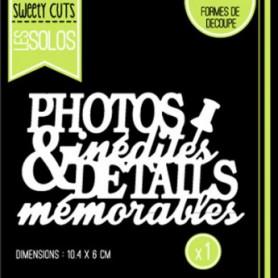 Die Photos Inédites - Sweety Cuts – Florilèges Design