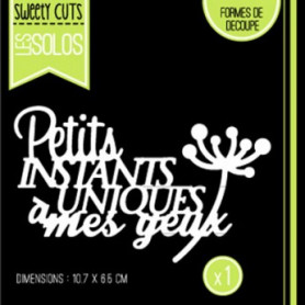 Die Instants Uniques - Sweety Cuts – Florilèges Design