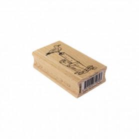 Tampon bois Une mouette - Bord de mer - Florilèges Design
