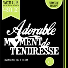 Die Moment de Tendresse - Sweety Cuts – Florilèges Design