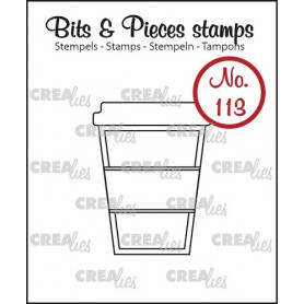 Tampon Mug to go – Bits and Pieces no 113 - Crealies