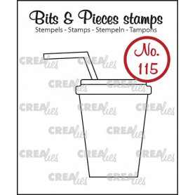 Tampon Softdrink/milkshake – Bits and Pieces no 115 - Crealies