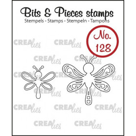 Tampons Dragonfly 2 pc – Bits and Pieces no 128 - Crealies