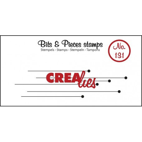 Tampon Hanging Dots – Bits and Pieces no 131 - Crealies