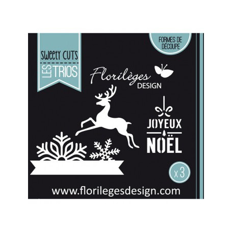 Dies Flocons de Noël - Sweety Cuts – Florilèges Design