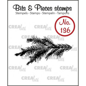 Tampon Pine Branch – Bits and Pieces no 136 - Crealies