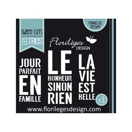 Dies Sinon Rien - Sweety Cuts – Florilèges Design