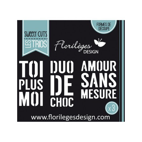 Dies Toi Plus Moi - Sweety Cuts – Florilèges Design