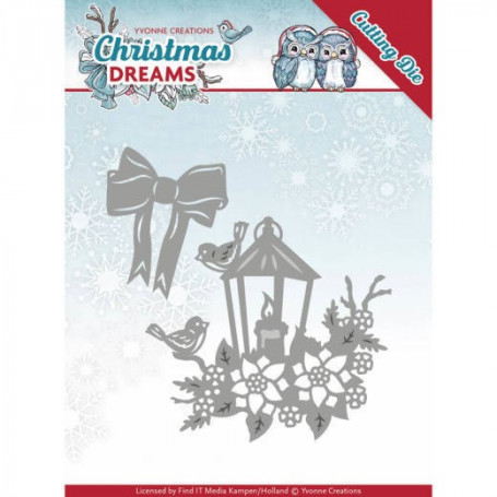 Dies Christmas Lantern 2 pc - Christmas Dreams - Yvonne Creations