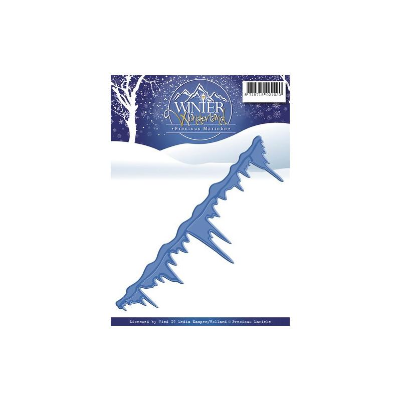 Die Icicles Border - Winter Wonderland - Precious Marieke