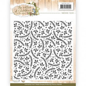 Classeur de gaufrage 124x124mm the Nature of Christmas - Precious Marieke Embossing folder