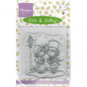Tampon Don & Daisy Christmas Carols - Marianne Design