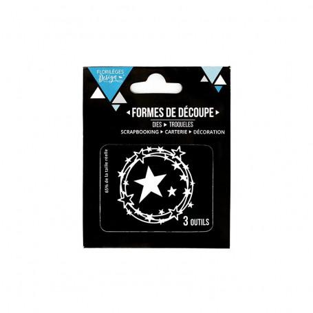 Dies Ronde d'étoiles 3pc – Florilèges Design