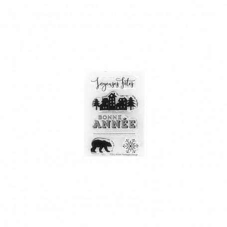 Tampons Bonnes Fêtes – Florilèges Design