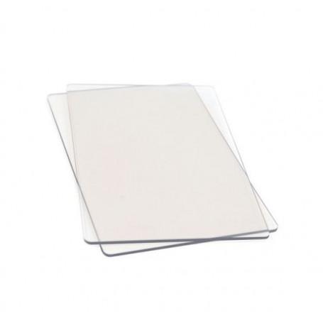 Plaque de découpe 15,50x22 cm 1 paire pour Big Shot Standard - Sizzix