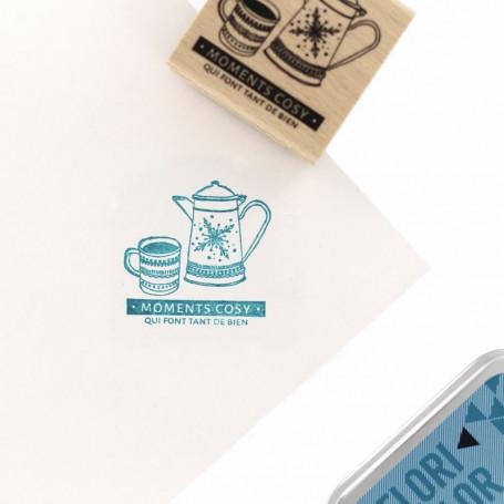 Tampon bois So Cosy - Cosy Christmas - Florilèges Design
