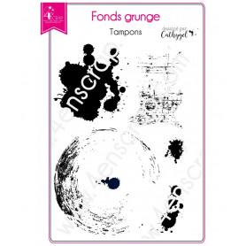 Tampons Tache - Fonds grunge – 4enScrap