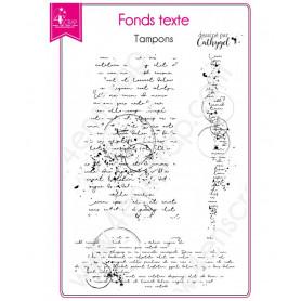 Tampons Tache cercle - Fonds texte – 4enScrap