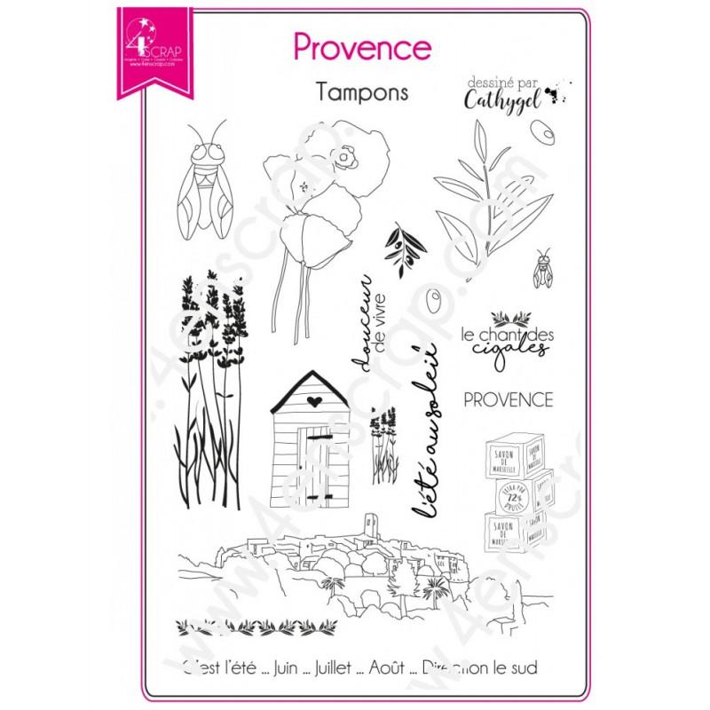 Tampons Provence - Sud région – 4enScrap