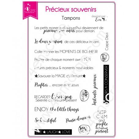 Tampons Précieux Souvenirs - Instant Photo – 4enScrap