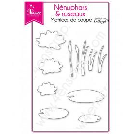 Dies Nénuphars et roseaux – 4enScrap