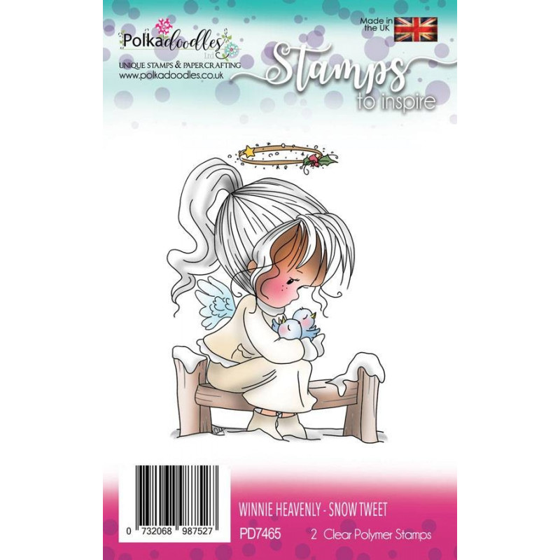 Tampons Winnie Heavenly Snow Tweet – Polkadoodles