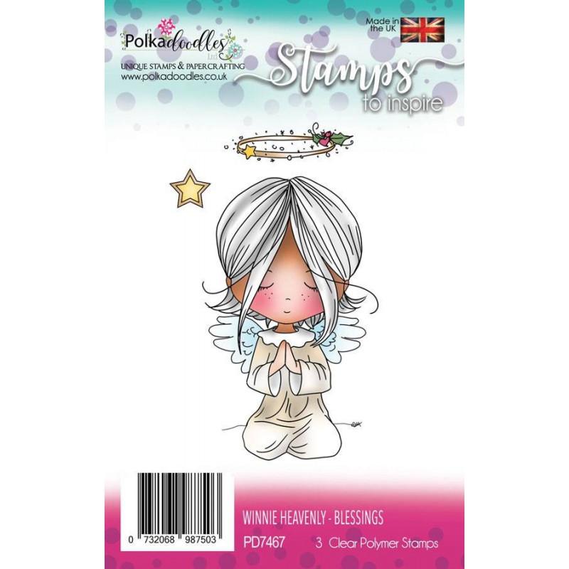 Tampons Winnie Heavenly Blessings – Polkadoodles