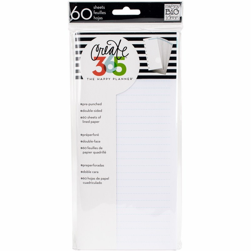 Note Paper - Half Sheet - Classic Create 365 - 60pc - Me & My Big Ideas