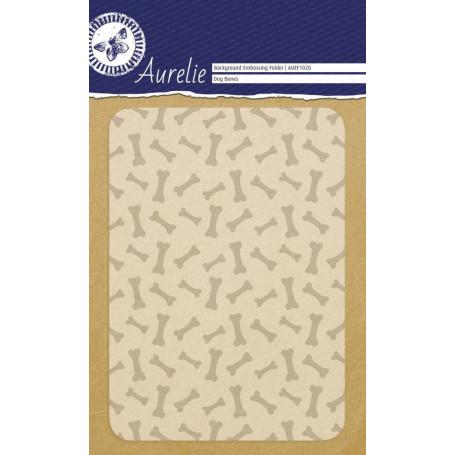 Classeur de gaufrage A6 Os de chien – Aurelie – Embossing folder Dog Bones