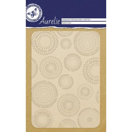 Classeur de gaufrage A6 Cercles en pointillés – Aurelie – Embossing folder Dotted Circles