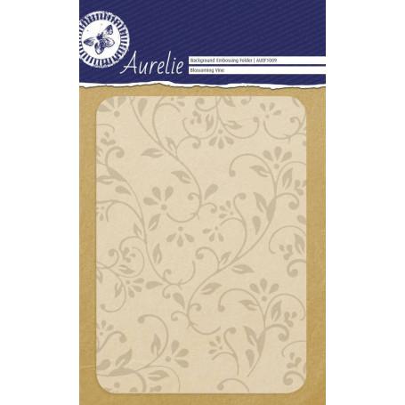 Classeur de gaufrage A6 Vigne fleurie – Aurelie – Embossing folder Blossoming Vine