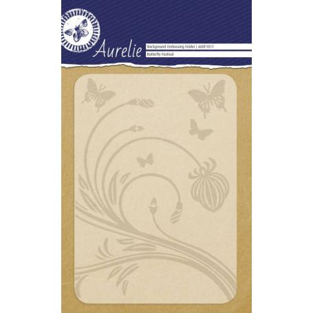 Classeur de gaufrage A6 Butterfly Festival – Aurelie – Embossing folder