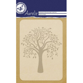 Classeur de gaufrage A6 Sycamore Maple - Aurelie Background Embossing Folder