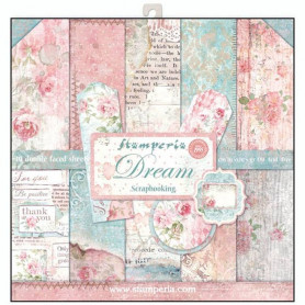 Set de papier 30x30 Dream 10 feuilles - Stamperia