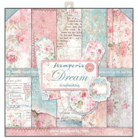 Set de papier 30x30 Dream 10 feuilles - Stamperia