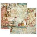 Set de papier 30x30 Time is an illusion 10 feuilles - Stamperia