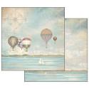 Set de papier 30x30 Sea Land 10 feuilles - Stamperia